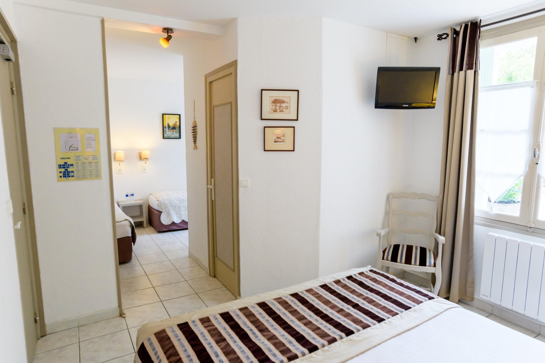 Suite familiale Charme de l'Hôtel Le peu Breton sur l'île de Ré