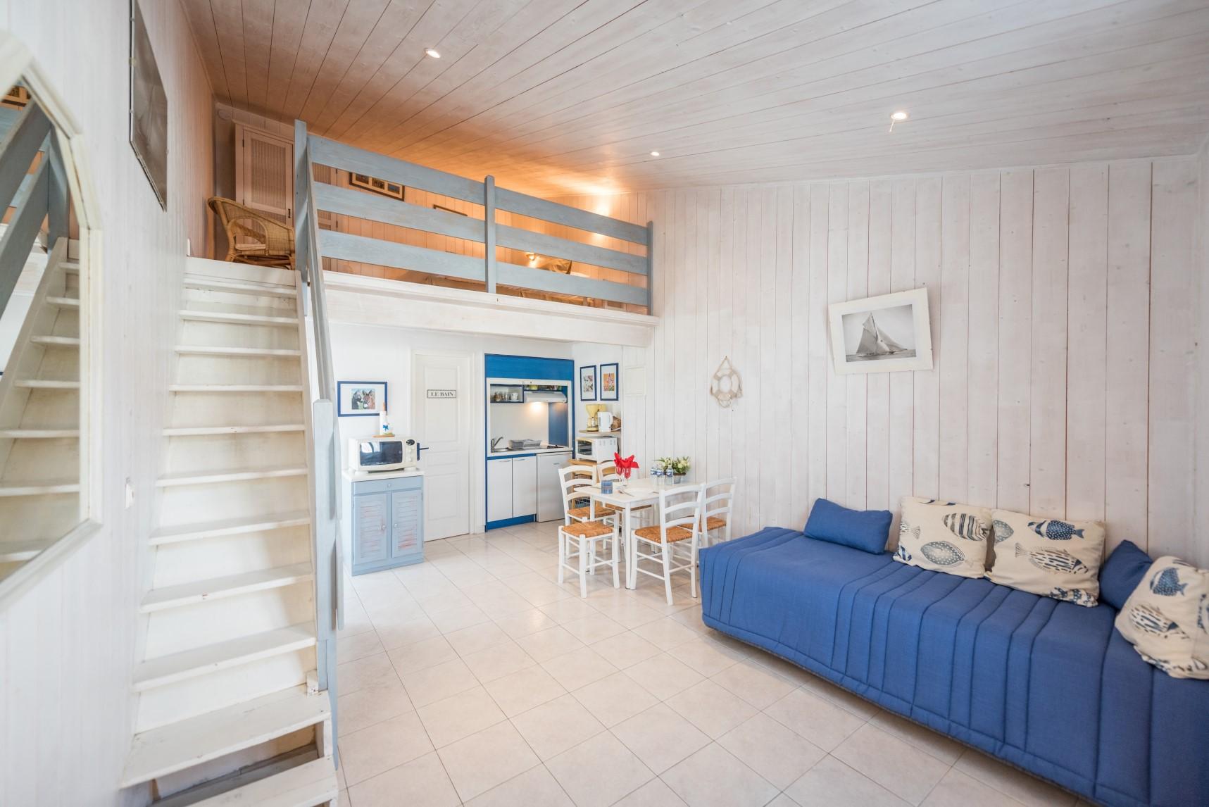 Studio de l'Hôtel Le peu Breton sur l'île de Ré