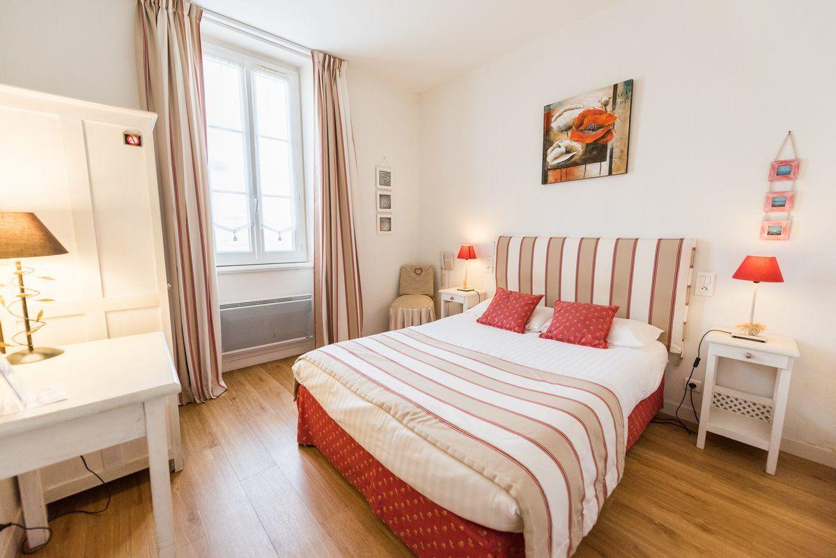 Chambre double Confort de l'hôtel Le Peu Breton sur l'île de Ré