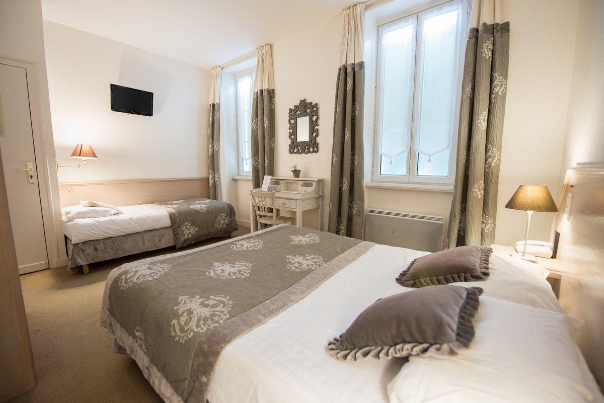 Chambre familiale Confort de l'hôtel Le Peu Breton sur l'île de Ré