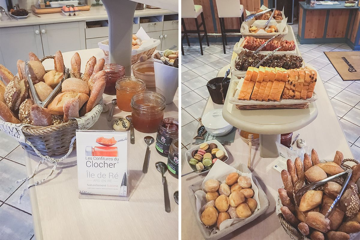 All-you-can-eat buffet breakfast